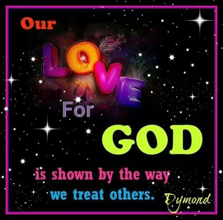 I Love God.