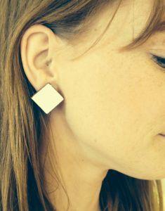 f541c0d50d2 PIND kõrvarõngad, saar värvitud | Eesti Disain | Stud earrings ...