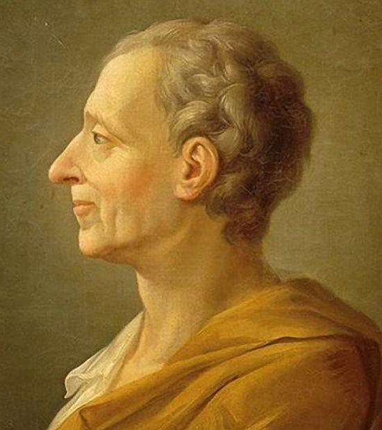 thinker baron de montesquieu