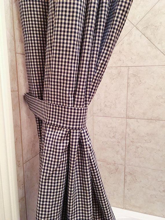 Custom Order Double Panel Shower Curtains Custom Shower
