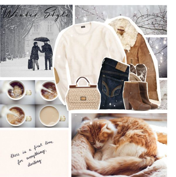 """winter style"" by myduza-and-koteczka on Polyvore"