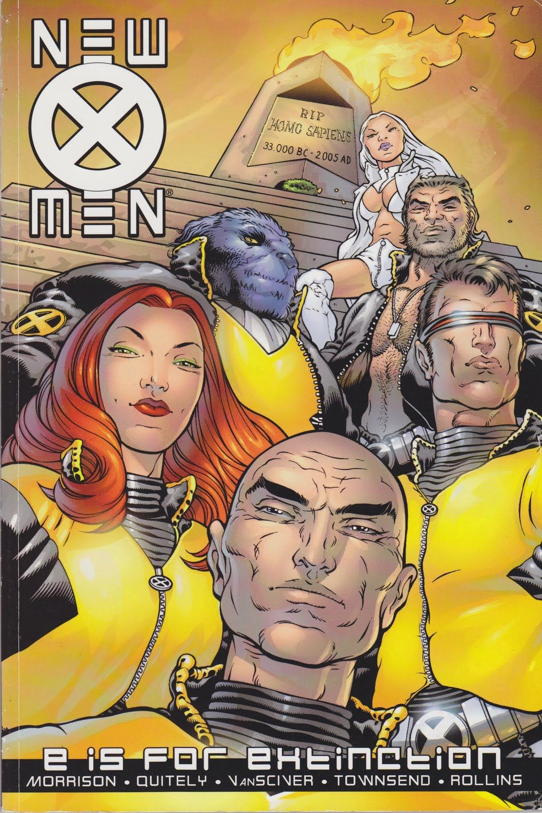 Comic New Xmen By Grant Morrison Favorite Characters Emma Frost Phoenix Xorn The Healer Beast Aka Henry Mccoy The Stepford C Grant Morrison X Men Comics