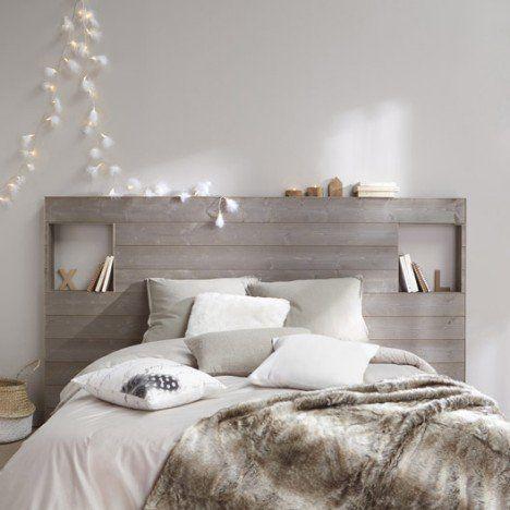 Lambris bois brossé petits noeuds, L 237 x l 135cm, ép16mm - peindre un lit en bois