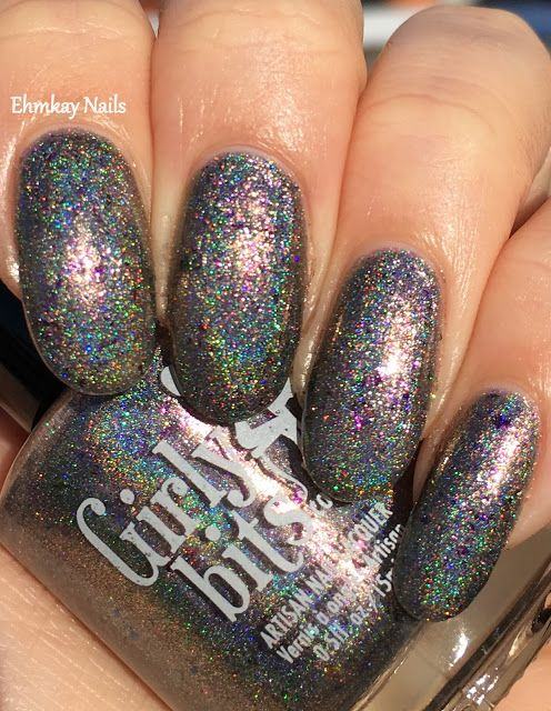 ehmkay nails: Girly Bits January CotM: In One Year and Out the Other ...