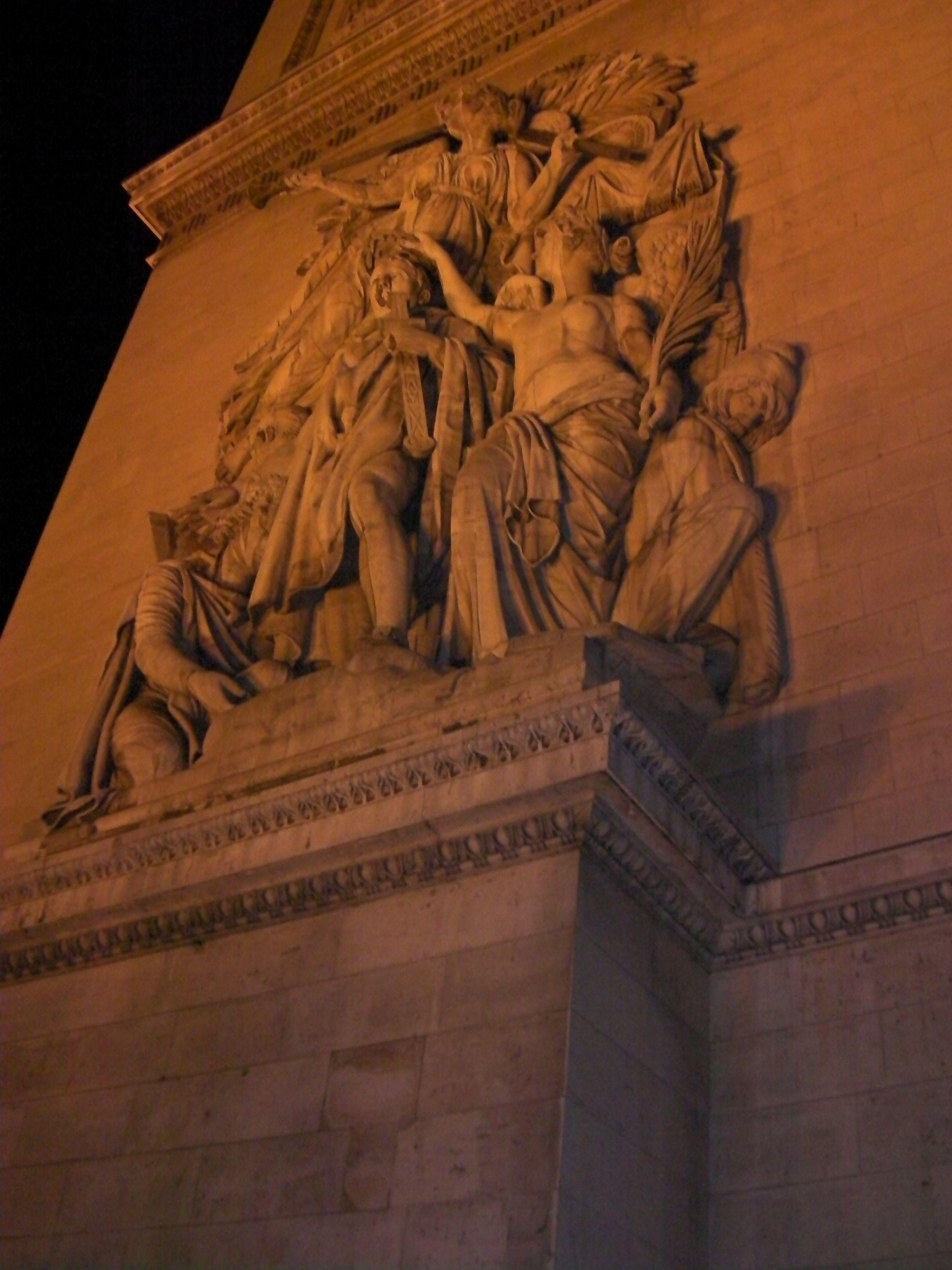 Arco do Triunfo - detalhes