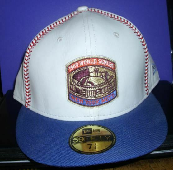 0876dd594bf New Era 59fifty New York Mets Hat Cap 1969 World Series Leather NEW   fashion  clothing  shoes  accessories  mensaccessories  hats (ebay link)
