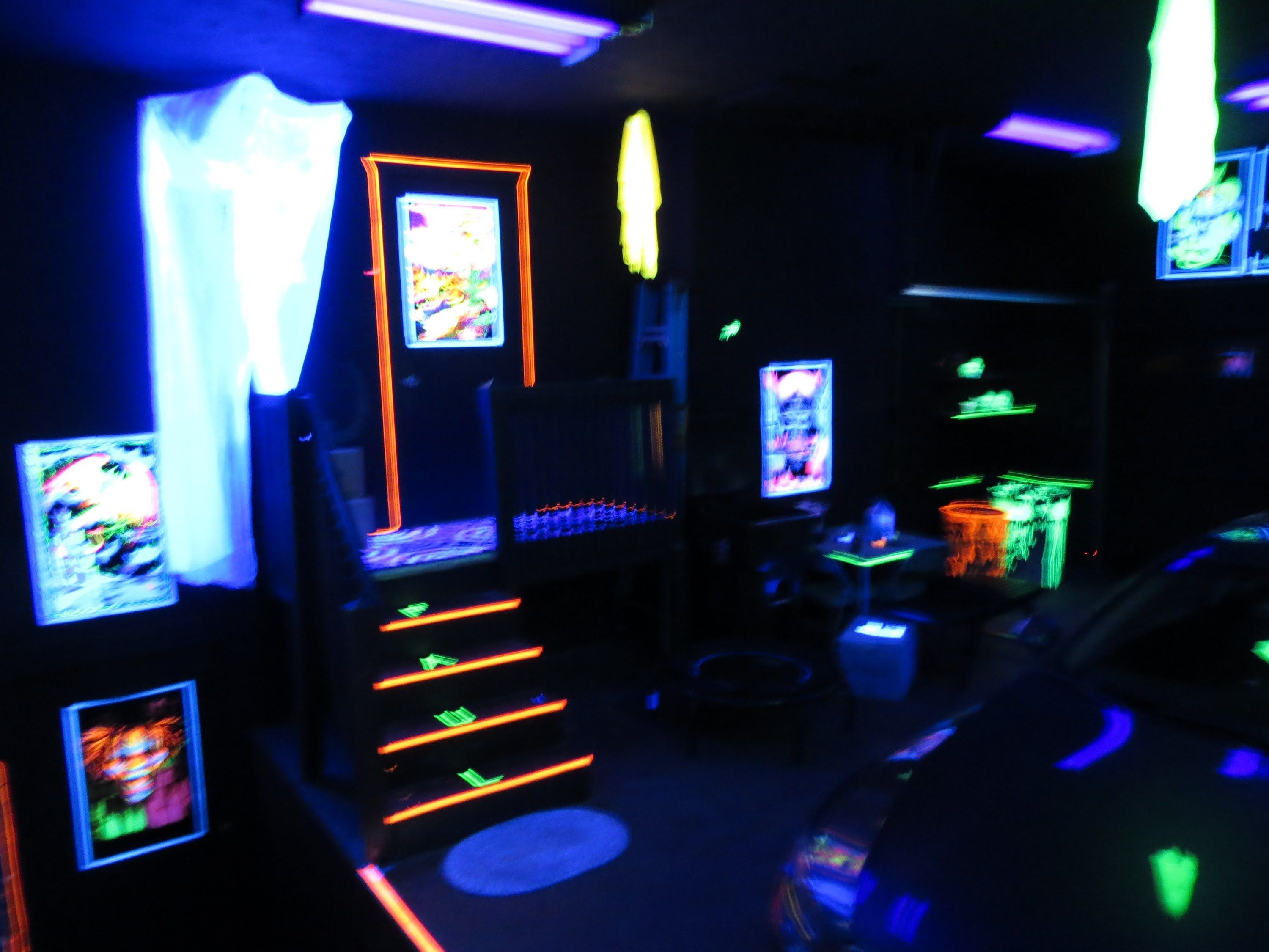 black light garage - Google Search