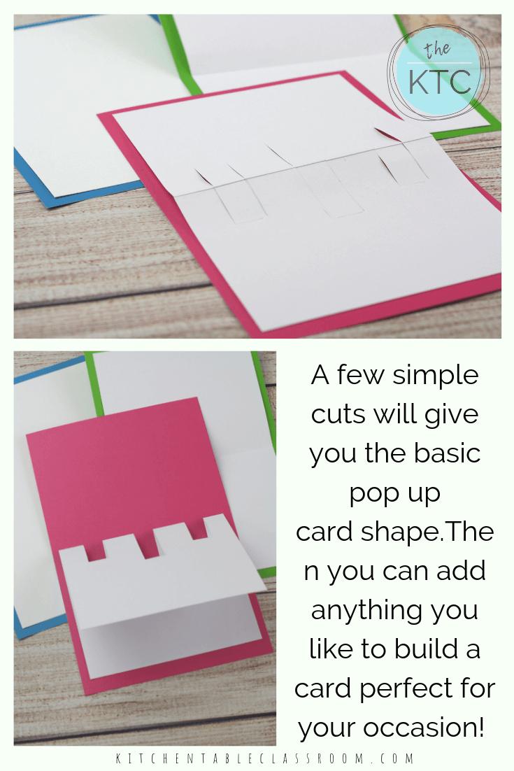 Diy Pop Up Christmas Card Templates