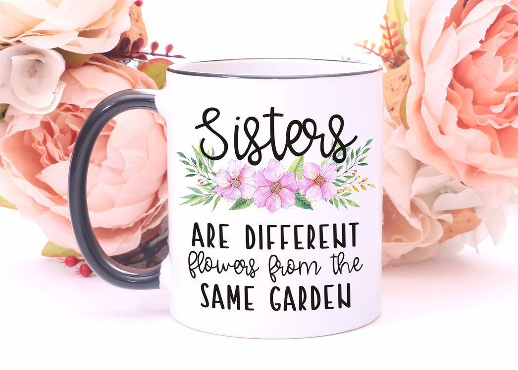 Sister GiftsSister MugSister Birthday GiftSister In Law GiftStep GiftFunny MugGift For SistersBig Cup By Mhuglife On