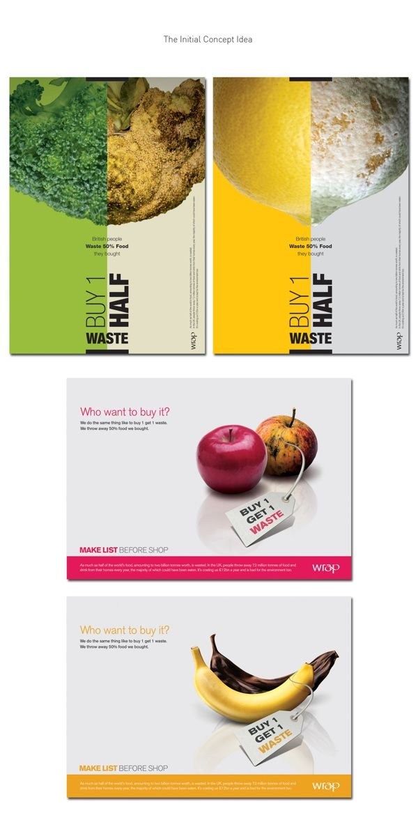 food waste campaign don t be a lemon on behance more
