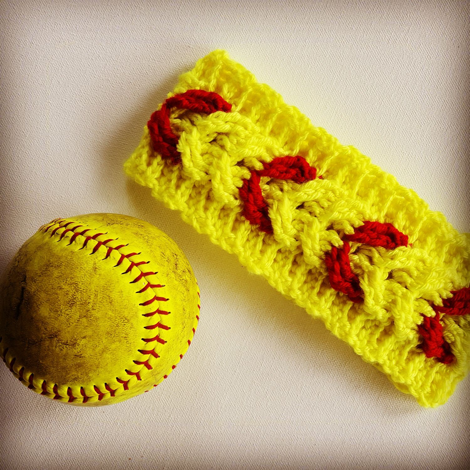 softball crochet earwarmer - baseball crochet earwarmer - crochet ...