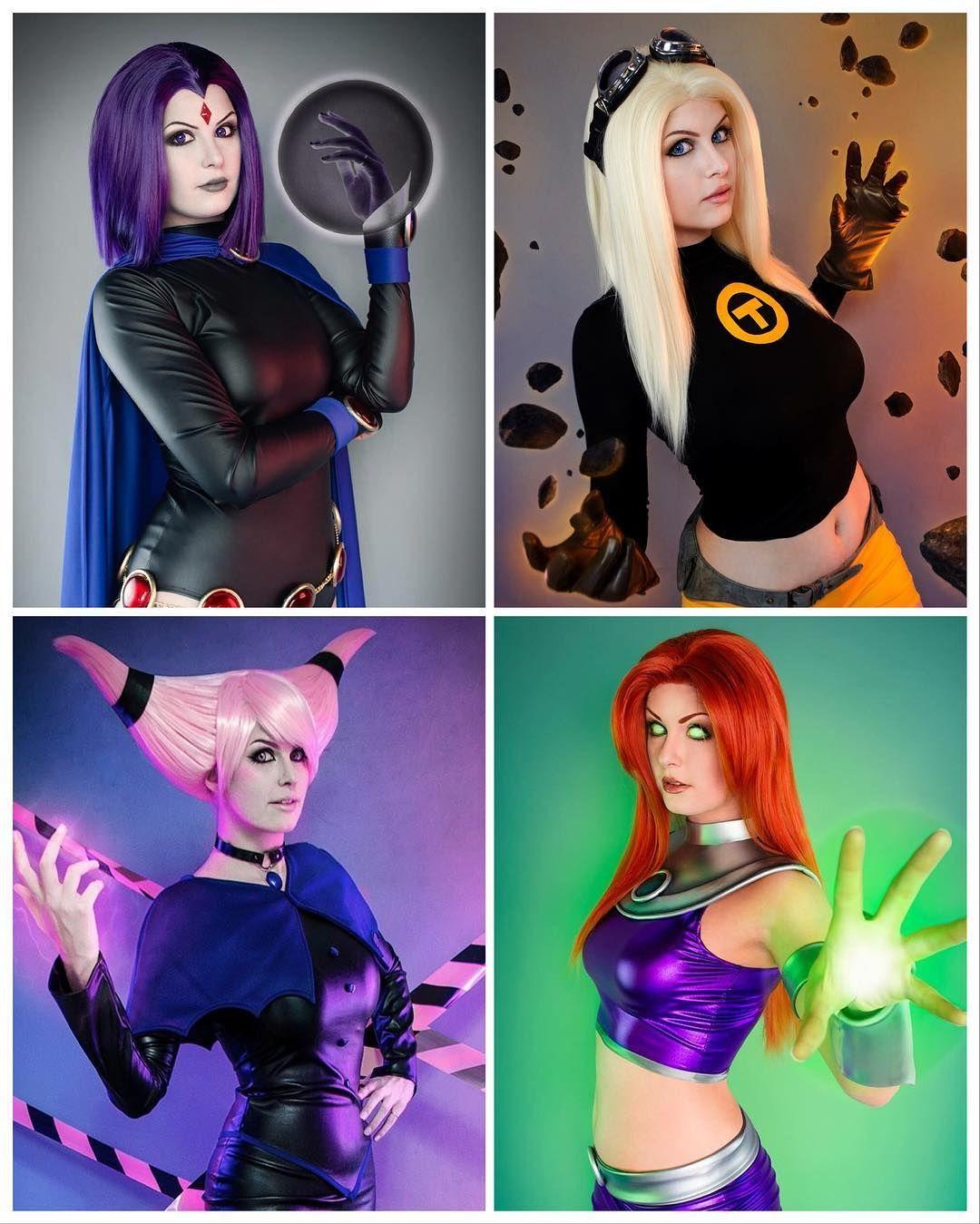 All My Teen Titans Cosplays So Far Raven, Terra, Jinx And -2428