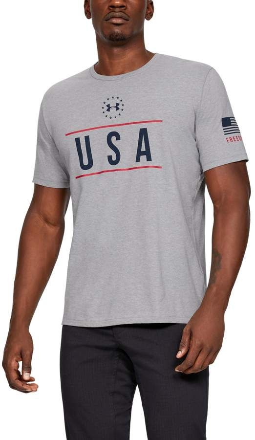 5f2aaa2f Men's UA Freedom USA Chest T-Shirt in 2019 | Products | Under armour ...
