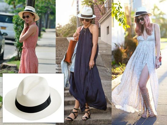 6f1bef1d 3 - Celebrity Style: How to Wear Straw Hats Th… | travel | Hats ...