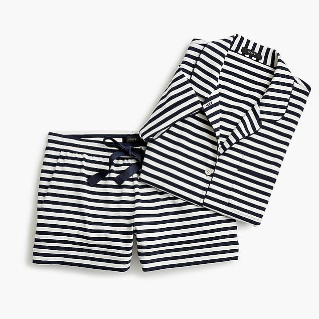 66dda8493af4 women s dreamy short-sleeve cotton pajama set in stripe - women s ...