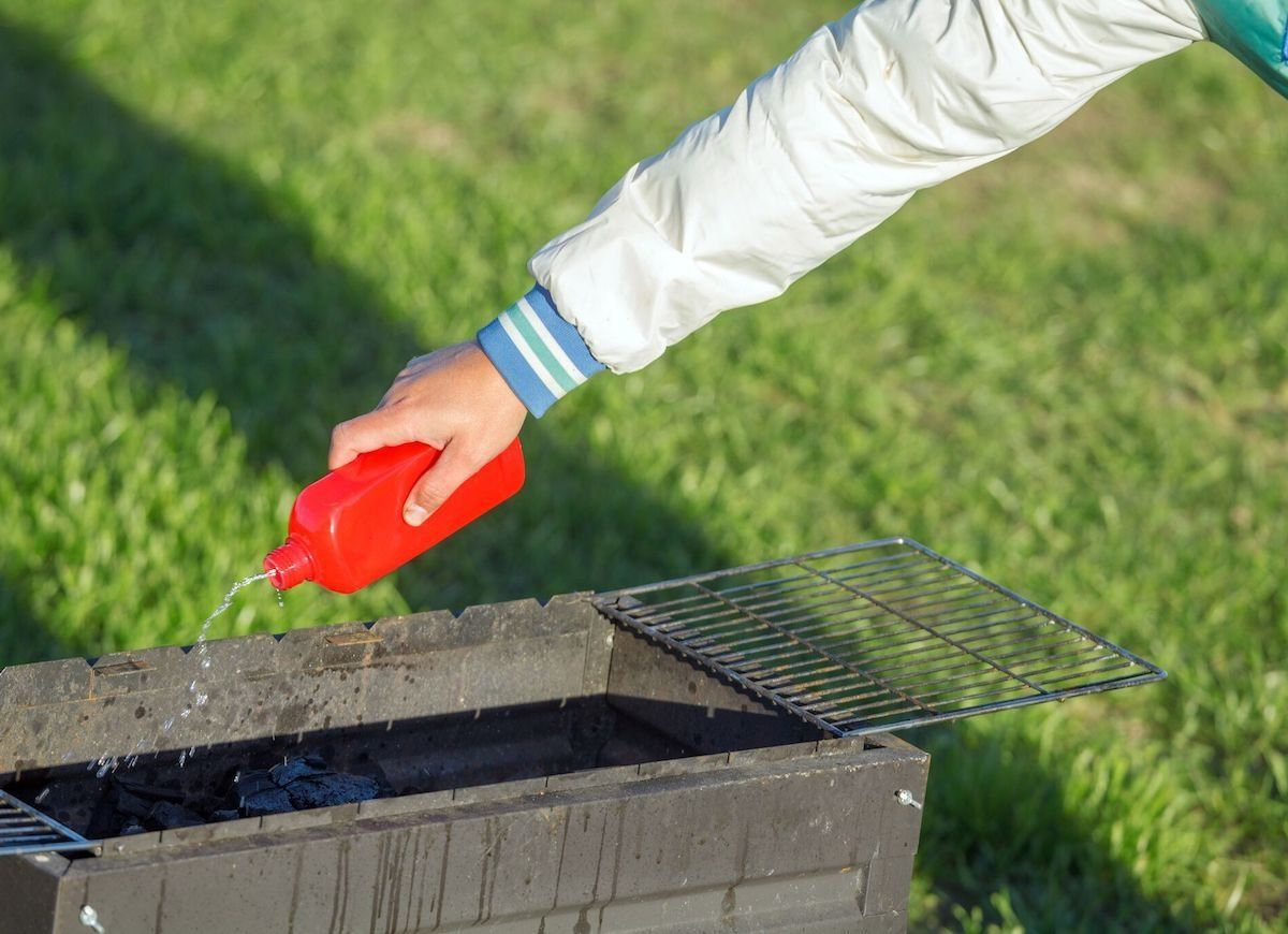 how to light wood charcoal without lighter fluid