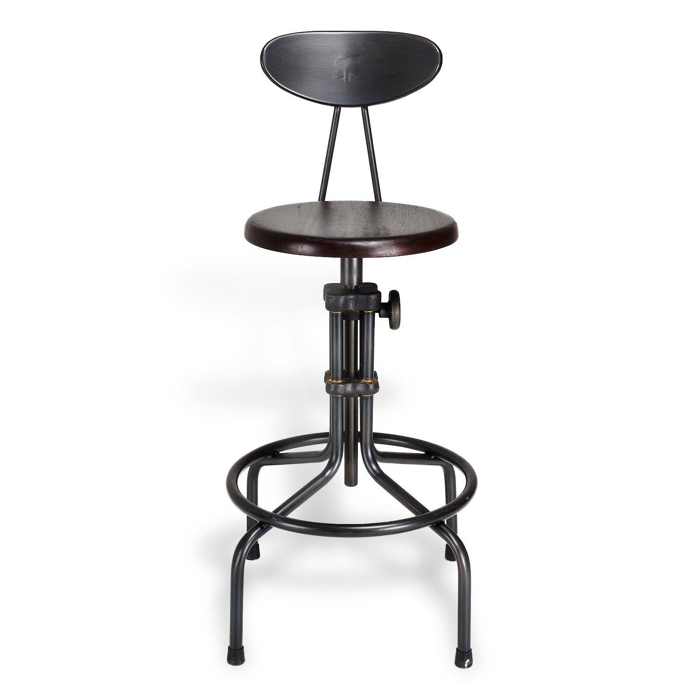 Post High Cast Iron Stool Iron Stools Contemporary Bar Stools Modern Furniture Decor