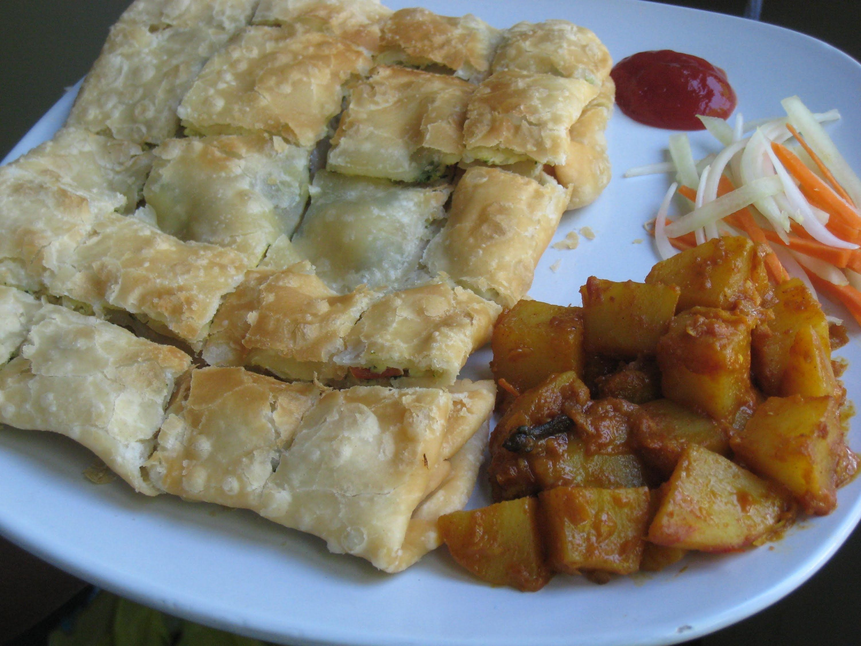 Mughlai paratha with spicy potato curry recipe recipes to try food mughlai paratha with spicy potato curry recipe forumfinder Image collections