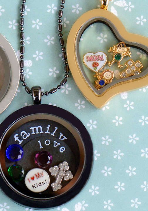Locket Necklace With Two Charms Stamp The Moment Locket Necklace Locket Necklace
