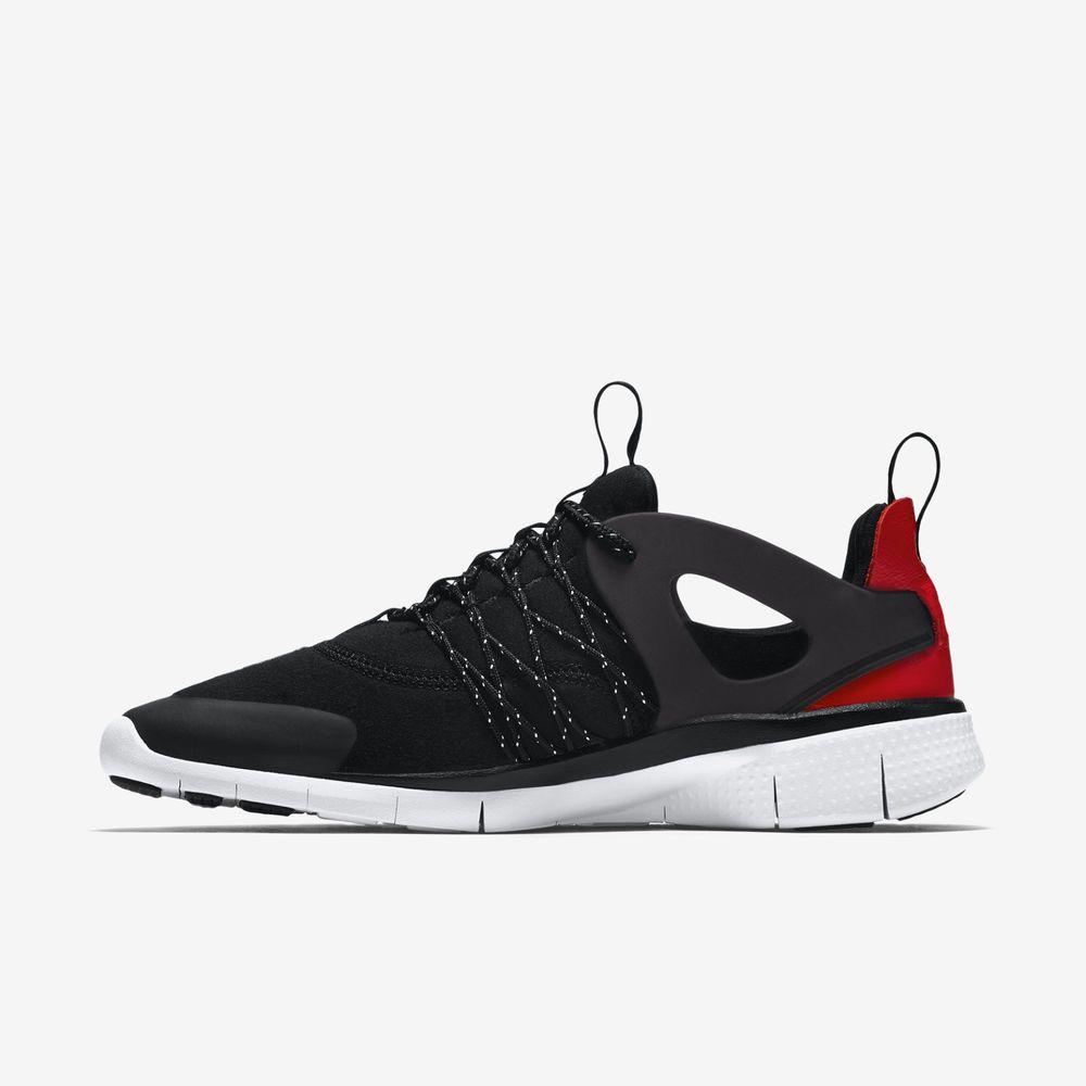 27387241b489 Nike K Womens Free Viritous TP Light Running Shoes Black Red 749566 002 Sz 8  5