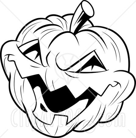 Super Scary Halloween Coloring Pages Jack O Lantern Coloring