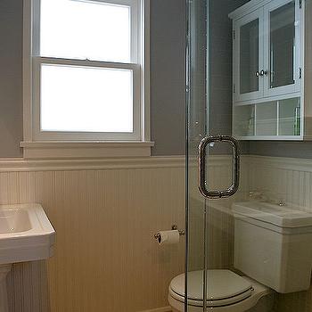 White Beadboard Backsplash With Images Beadboard Bathroom