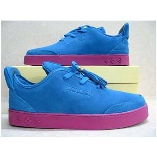 Kanye West Louis Vuitton Low Shoes Blue Pink Louis Vuitton Shoes Yeezy Shoes Blue Shoes