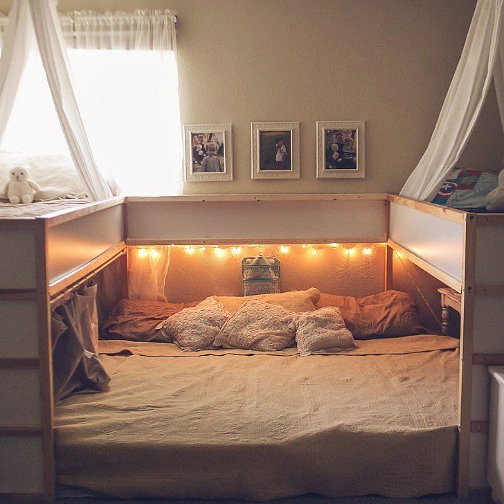 This Ikea Hack For Families Who Cosleep Is Truly Genius Ikea - schlafzimmer weiß massiv