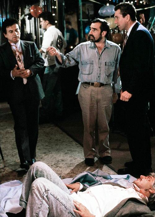 Martin Scorsese with J...