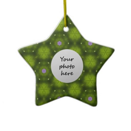 #Pink #Flowers Christmas #Ornaments