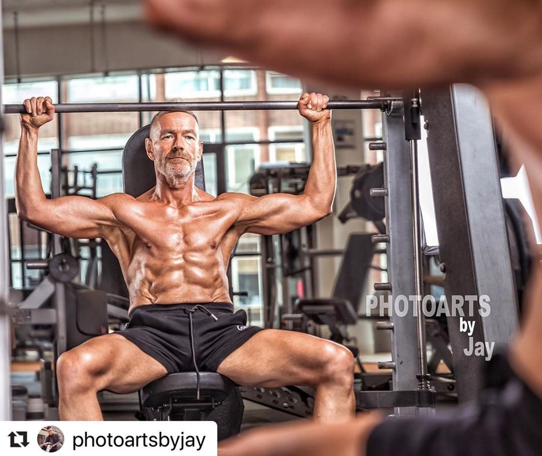 #Repost photoartsbyjay with make_repost From the shoot with been danoreill14 at ultimate_fitness_brm...