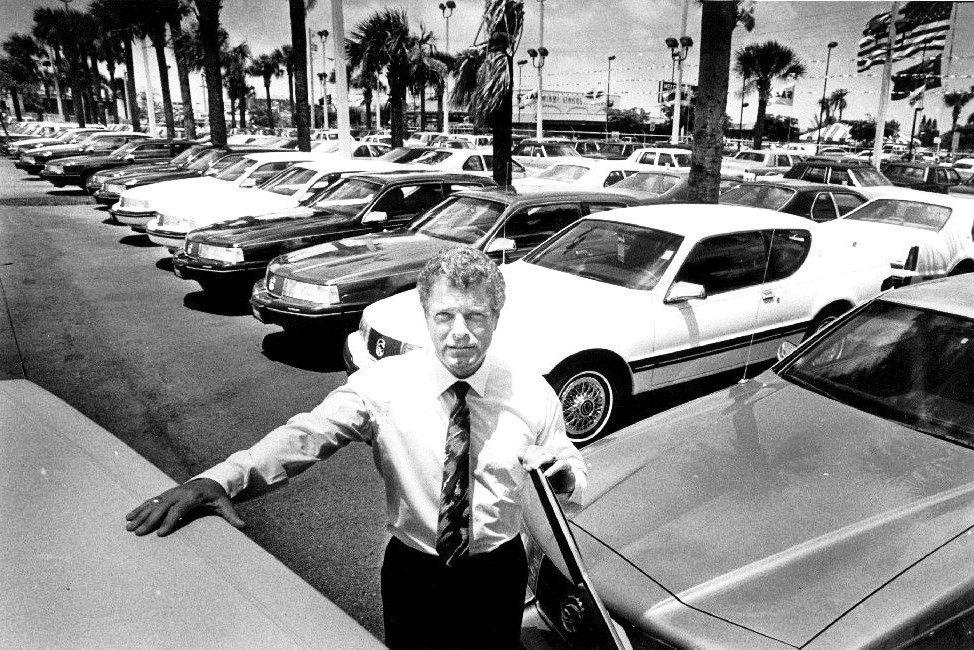 1980's Miami LincolnMercury Dealership, Miami, Florida