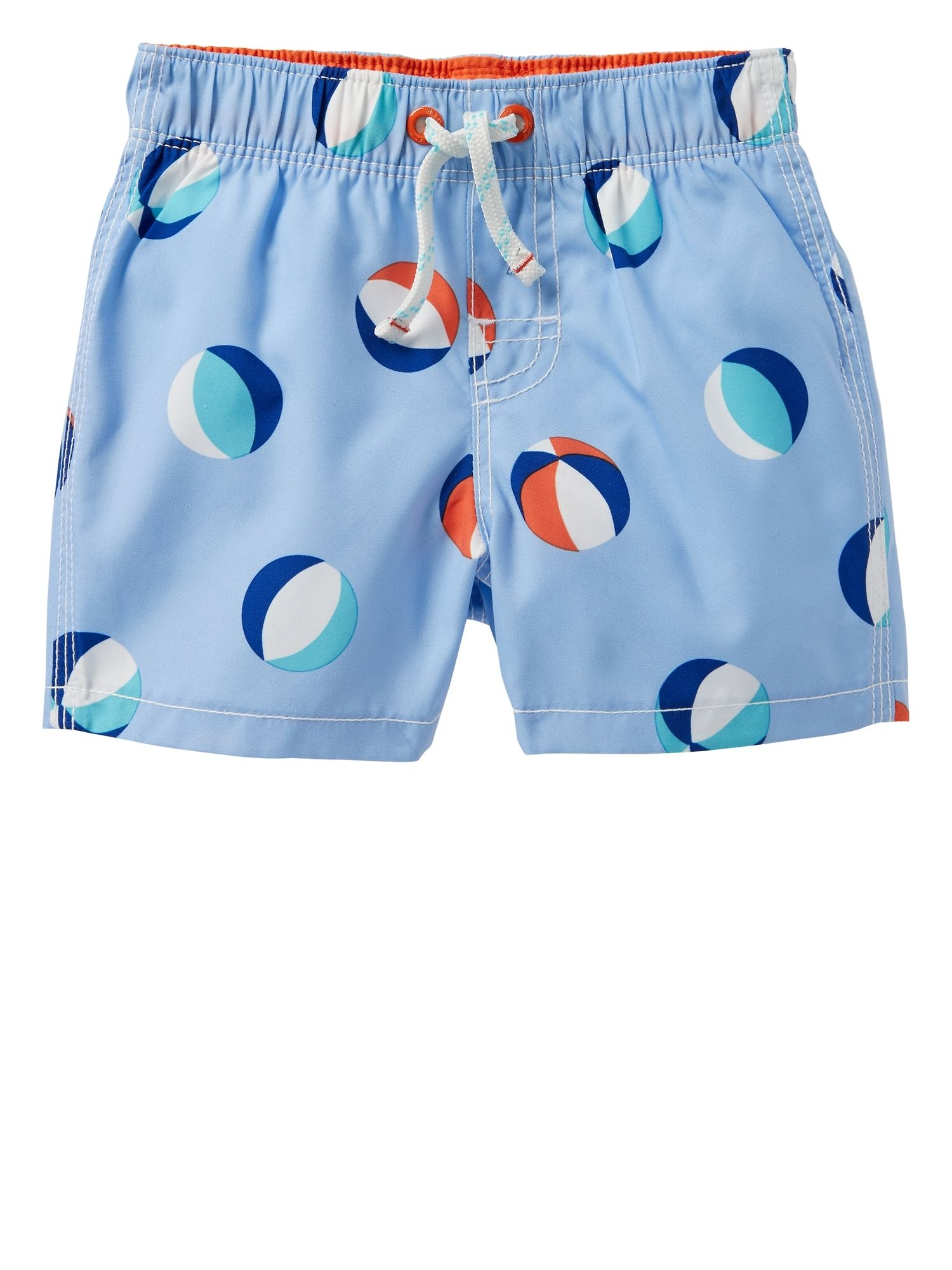 12199b78dd14 Beach Ball Swim Trunks | Gap Factory $10.99. Find this Pin and more on Swim  2018 - Baby + Toddler Boy ...
