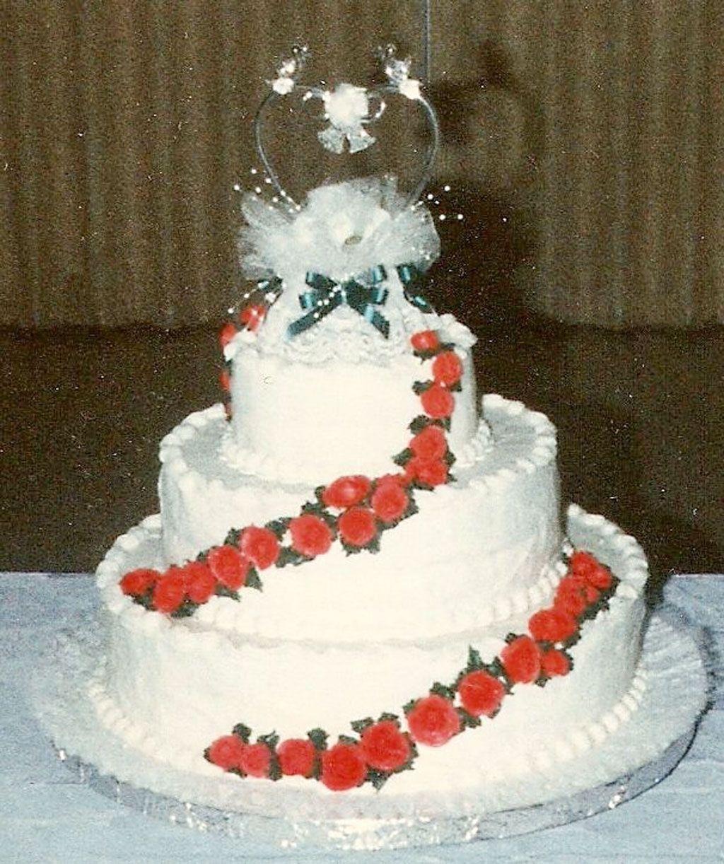 Cheap unique design wedding cakes birthday cake with