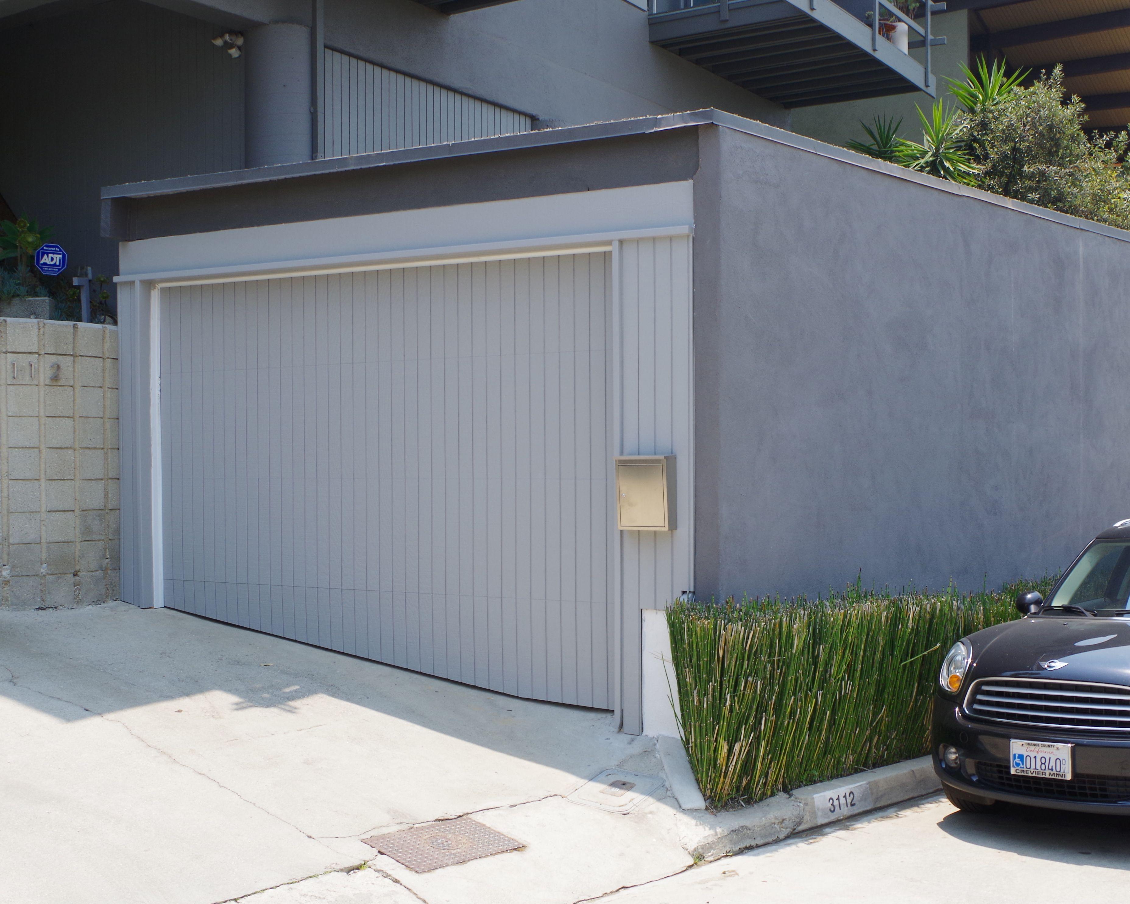 Garage Door Services In California Tungsten Royce Modern Garage Doors Contemporary Garage Doors Modern Garage