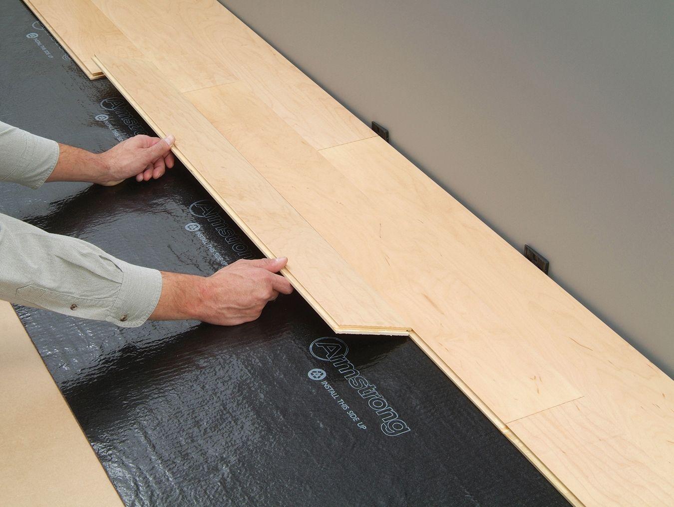 Engineered Hardwood Flooring On Concrete | Diy wood floors ...