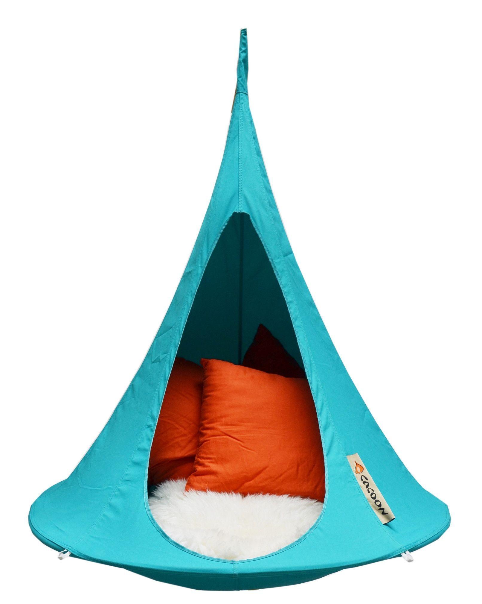 Ikea Ps Svinga Hangstoel.Cacoon Bonsai Hanging Chair Nest Hammock Turquoise Hangstoel
