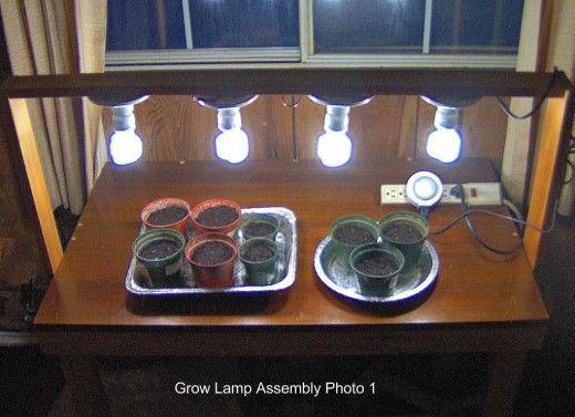 Diy Cheap Tabletop Grow Light Grow Lamps Grow Lights