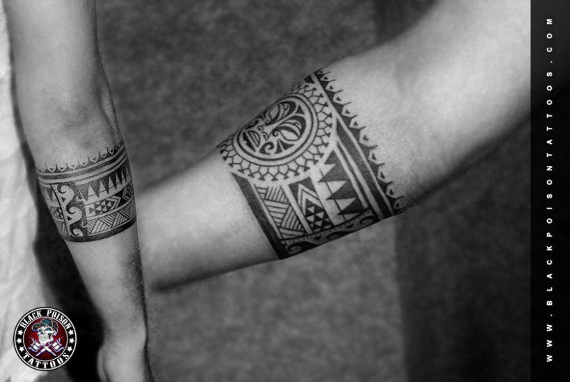 Polynesian Armband Tattoo Tiki S Organs Are Often Separately Drawn