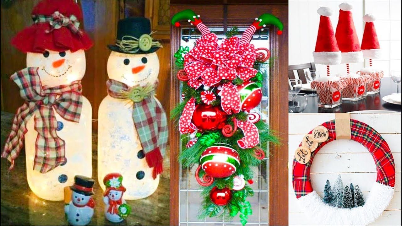 Diy Christmas Decor Easy Crafts Ideas At Christmas Winter Ideas For T Christmas Decor Diy Christmas Crafts Diy Diy Christmas Art