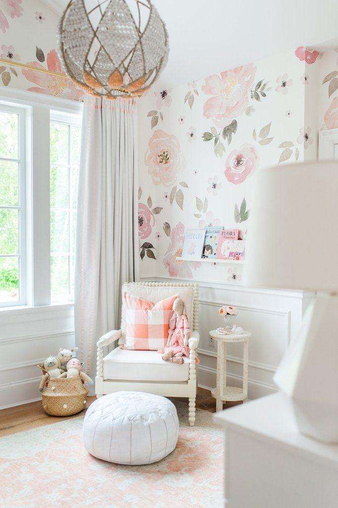 Best Jolie Wallpaper Mural Girl Room Kids Room Design Girls 400 x 300