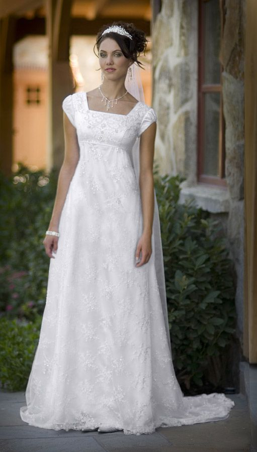 3d187100006 Modest Wedding Gowns With Sleeves - The Wedding SpecialistsThe Wedding  Specialists
