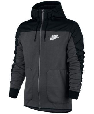d5b42e04e2 NIKE Nike Men s Advance 15 Zip Mixed Media Hoodie.  nike  cloth   activewear