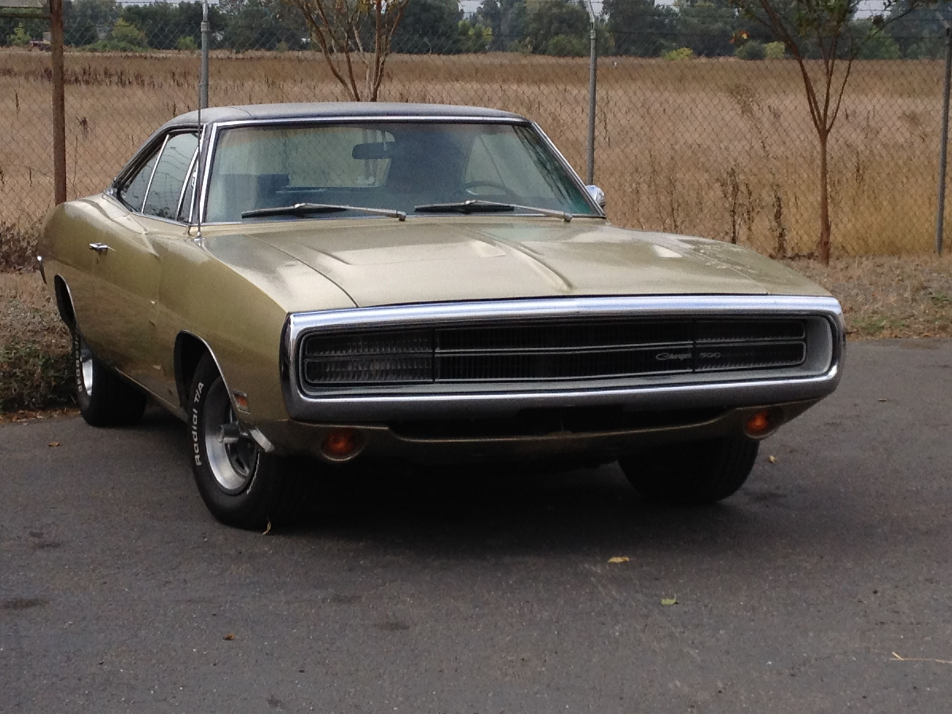 My Charger  1970 Dodge Charger 500  383 Magnum, 4 barrel carb, 727