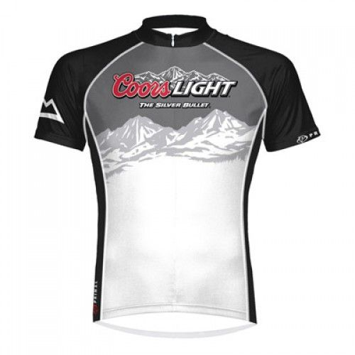 Coors Light Cycling Jersey White