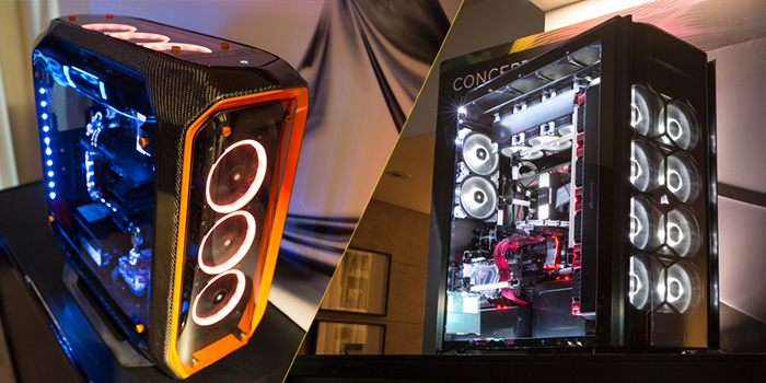 Corsair Unveils Concept Curve Concept Slate Sync It And Host Of New Liquid Cooling Options At Computex 2017