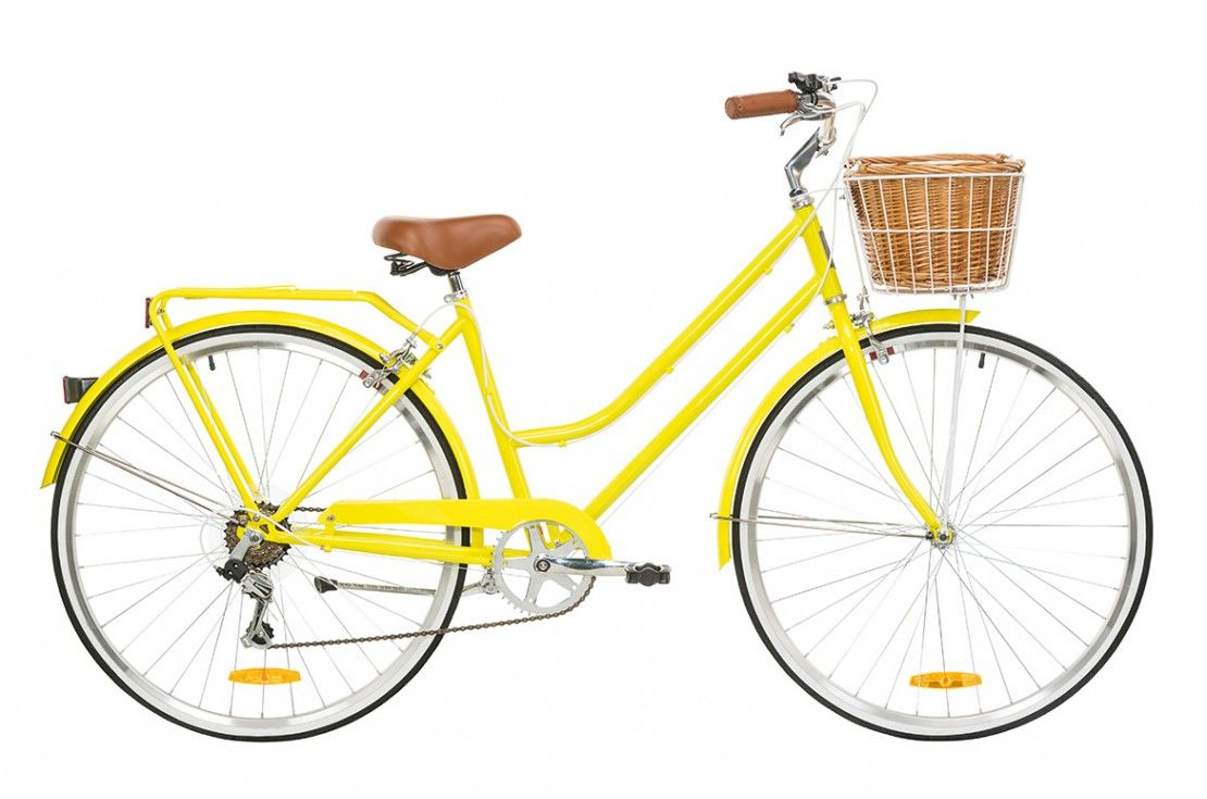 Yellow Bicycle Classic Bikes Bike Seat
