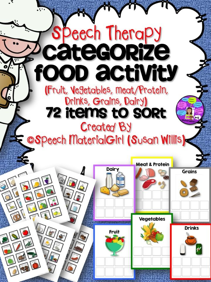 speech therapy food group categories sort fruit vegetables meat protein dairy food groups. Black Bedroom Furniture Sets. Home Design Ideas