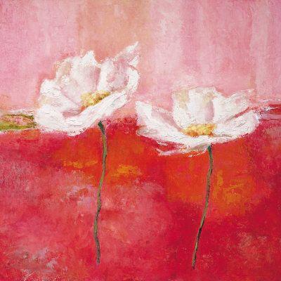 Fleurs En Rose I Plakater Af Isabelle Herbert Pa Allposters Dk Posters Art Prints Art Painting Edges