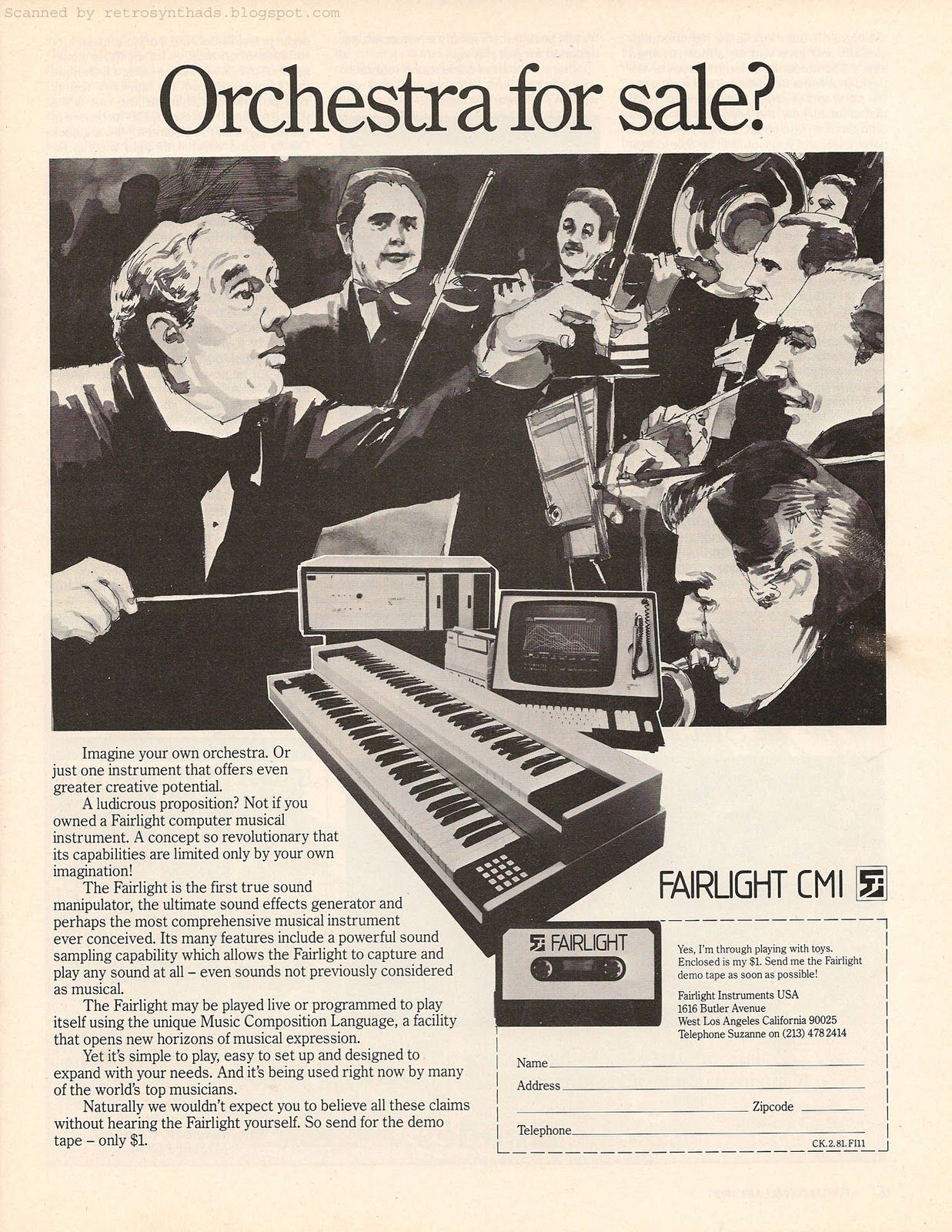 fairlight cmi - Google Search | Fairlight CMI | Moog synthesizer